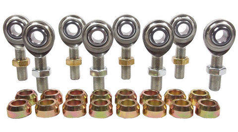 1/2 x 1/2-20 Economy 4 Link Kit With 1/2 Steel Cone Spacers & Jam Nuts