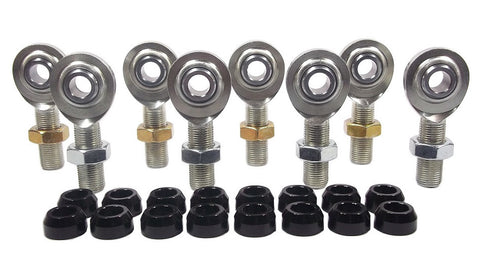 1/2 x 5/8-18 Economy 4 Link Kit With 1/2 Aluminum Cone Spacers & Jam Nuts
