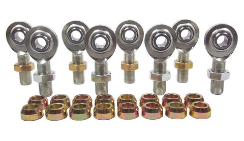 1/2 x 5/8-18 Economy 4 Link Kit With 1/2 Steel Cone Spacers & Jam Nuts