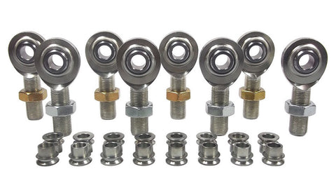 1/2 x 5/8-18 Economy 4 Link Kit With 1/2 To 3/8 High Misalignment Spacers & Jam Nuts