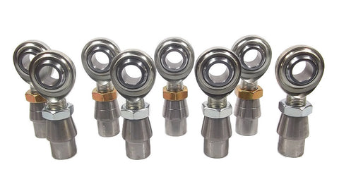 3/4 x 3/4-16 Economy 4 Link Kit With Weld-In Bungs .095 & Jam Nuts