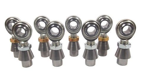 3/4 x 3/4-16 Economy 4 Link Kit With Weld-In Bungs .250 & Jam Nuts