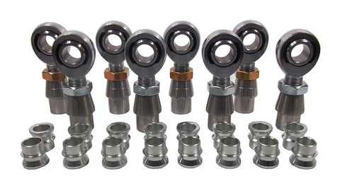 3/4 x 3/4-16 Chromoly 4 Link Kit With 3/4 To 5/8 High Misalignment Spacers, Weld-In Bungs .120 & Jam Nuts