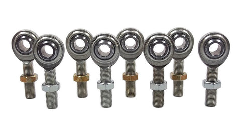 3/8 x 3/8-24 Economy 4 Link Kit With Jam Nuts