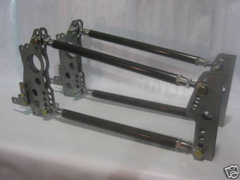 Complete 3/4 Four Link Bracket Kit