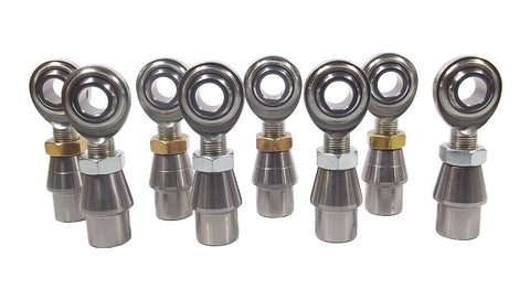 5/8 x 5/8-18 Economy 4 Link Kit With Weld-In Bungs .095 & Jam Nuts