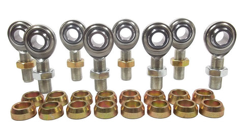 5/8 x 5/8-18 Economy 4 Link Kit With 5/8 Steel Cone Spacers & Jam Nuts