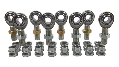 5/8 x 5/8-18 Economy 4 Link Kit With 5/8 To 1/2 High Misalignment Spacers & Jam Nuts