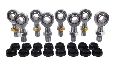 5/8 x 5/8-18 Chromoly 4 Link Kit With 5/8 Aluminum Cone Spacers & Jam Nuts