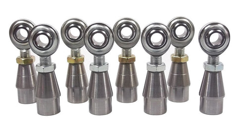 7/16 x 7/16-20 Economy 4 Link Kit With Weld-In Bungs .065 & Jam Nuts
