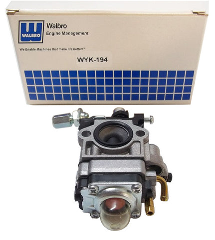 Quarter Scale Car Walbro WYK 194-1 Carburetor