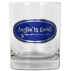Anglin' Is Good! 14 oz. Rocks Glass