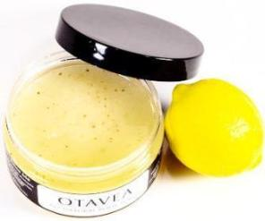Otavea all natural Lemon body scrub
