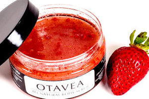 Otavea all natural Strawberry body scrub