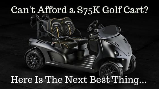 The Golf Cart Collaboration Between Garia and Mansory Is Stunning