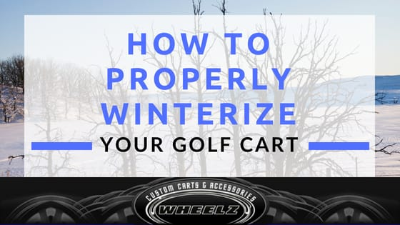 How to Properly Winterize Your Golf Cart