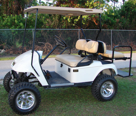 Pros & Cons: Club Car Golf Carts vs. EZGO Golf Carts - WHEELZ Custom Used Yamaha Golf Cart Engines on yamaha motorcycle engines, yamaha jet ski engines, yamaha dirt bike engines, yamaha boat engines, yamaha snowmobile engines, yamaha toyota engines, go kart engines, rat rod engines, yamaha utility golf carts, yamaha gas golf cars, yamaha g16 engine specs, yamaha u max utility cart,