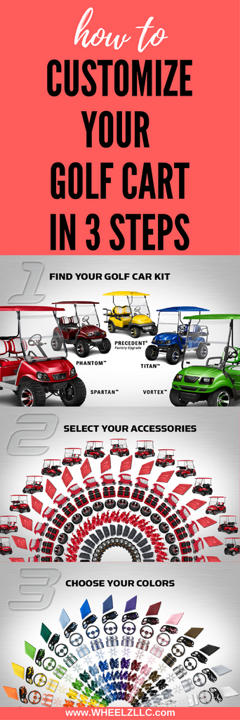 Customize Your Golf Cart in 3 Steps