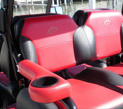 Armrest with Cup Holders