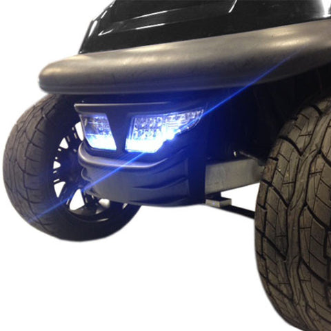 Club Car Precedent Automotive Style LED Bumper Light Kit - WHEELZ Custom Carts & Accessories