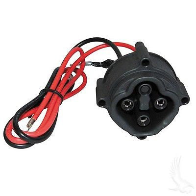 Yamaha DRIVE 2007+ Golf Cart Replacement Charger Receptacle w/ Wiring #JW2H6181 - WHEELZ Custom Carts & Accessories