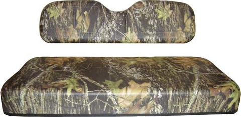Club Car DS 2000-2004 Golf Cart Mossy Oak Breakup Camo Replacement Seat Covers - WHEELZ Custom Carts & Accessories