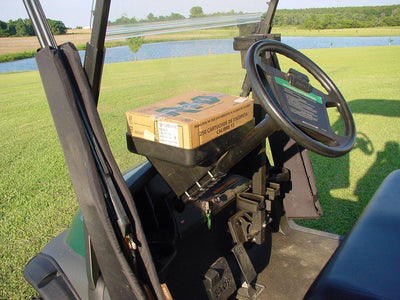 Universal Golf Cart Igloo Legend Cooler with Steering Column Mounted Tray - WHEELZ Custom Carts & Accessories  - 2