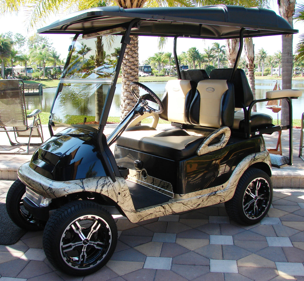 Club Car Precedent Golf Cart Custom Suite/Bucket Seats – WHEELZ ...