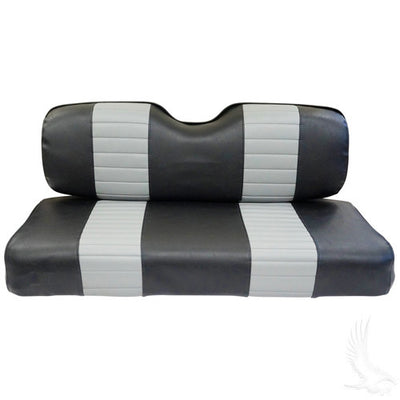 Set of EZGO TXT/RXV Golf Cart Custom Front Seat Replacement Covers - WHEELZ Custom Carts & Accessories  - 1
