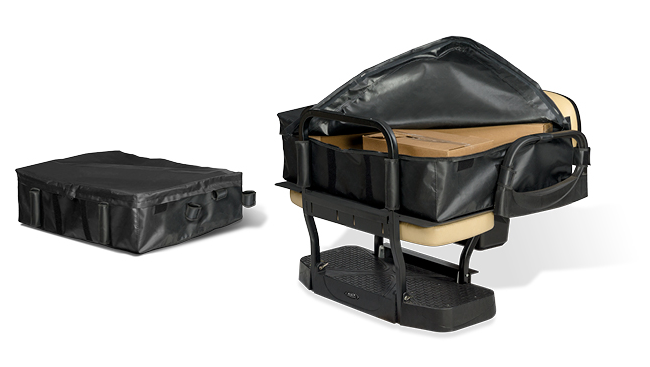 Doubletake Max5 Rear Seat Kit Soft Cargo Carrier