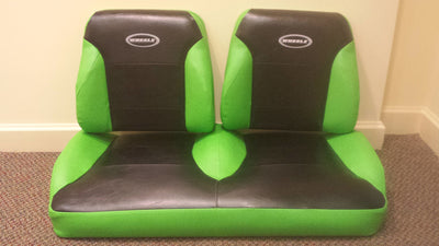 EZGO RXV Golf Cart Custom Two Toned Suite / Bucket Seats - WHEELZ Custom Carts & Accessories  - 4