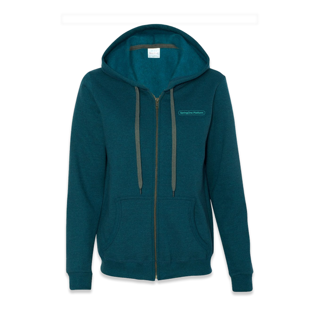 SpringOne Platform - Zippered Hooded Sweatshirt - Women's