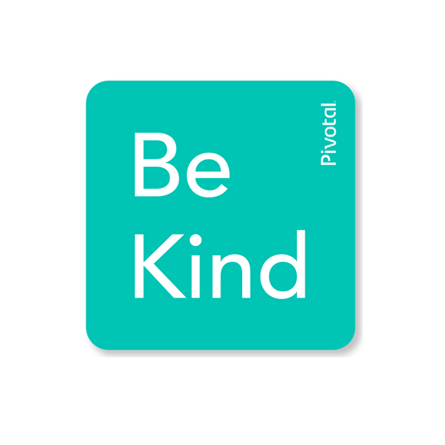 Be Kind Sticker (Mint)