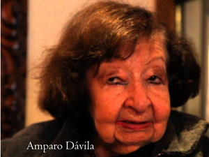 Death of Amparo Dávila, one of the great Latin American writers.