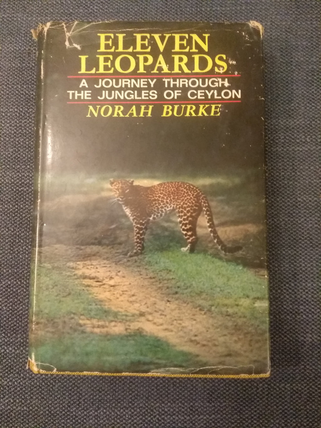 Eleven Leopards: A Journey Through The Jungles of Ceylon, by Norah Burke