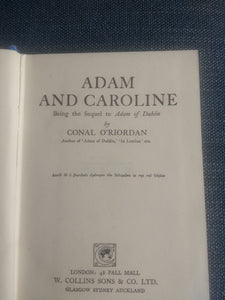 Adam And Caroline, By Conal O'Riordan