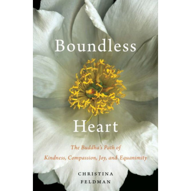 Boundless Heart: The Buddha's Path of Kindness, Compassion, Joy, and Equanimity by Christina Feldman.