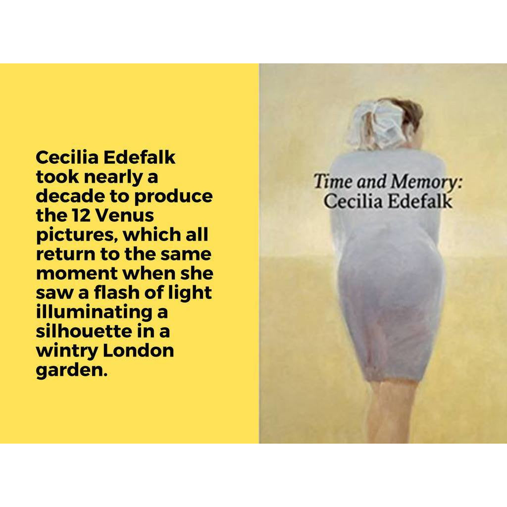 Time and Memory, by Cecilia Edefalk and Gunnel Wahlstrand
