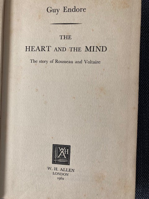 The Heart and the Mind, by Guy Endore