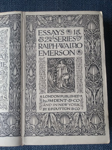Essays First and Second Series, by Ralph Waldo Emerson