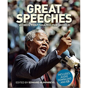 Great Speeches Hardcover, edited by Edward Humphreys.