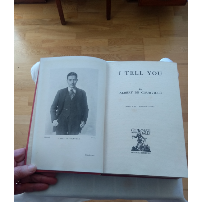 I Tell You, by Albert De Courville