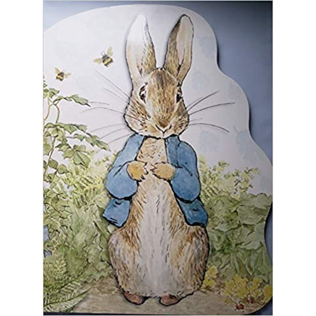 Peter Rabbit Large Shaped Board Book, by Beatrix Potter