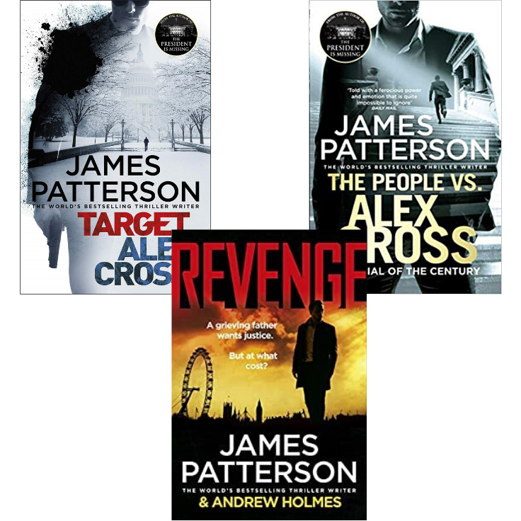 Three James Patterson novels for €10.00