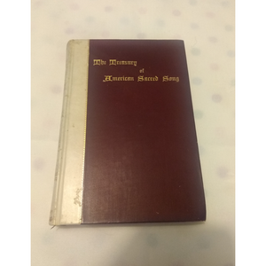 Treasury of American Sacred Song : With Notes Explanatory and Biographical (1896).