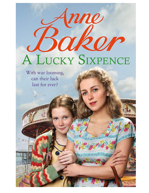 A Lucky Sixpence, by Anne Baker
