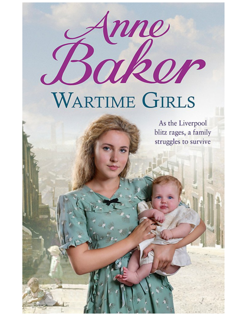 Wartime Girls, by Anne Baker