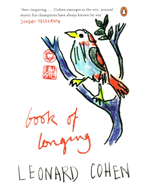 Book of Longing, by Leonard Cohen