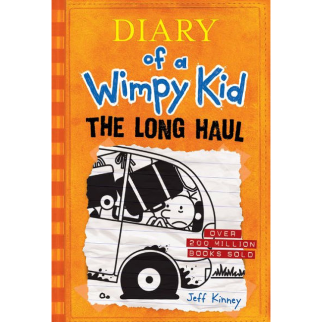 The Long Haul (Diary of a Wimpy Kid), by Jeff Kinney