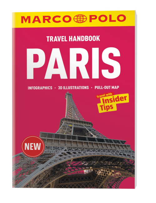 Paris Marco Polo Handbook, by Marco Polo Travel Publishing